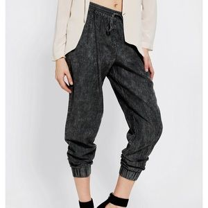 Sparkle and fade high rise joggers